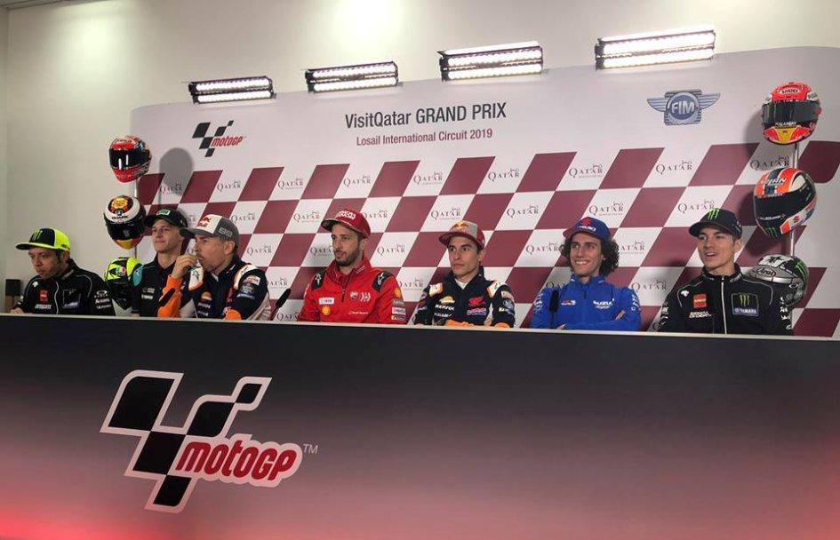 MotoGP: GP Qatar, Losail: LIVE conferenza stampa del giovedì