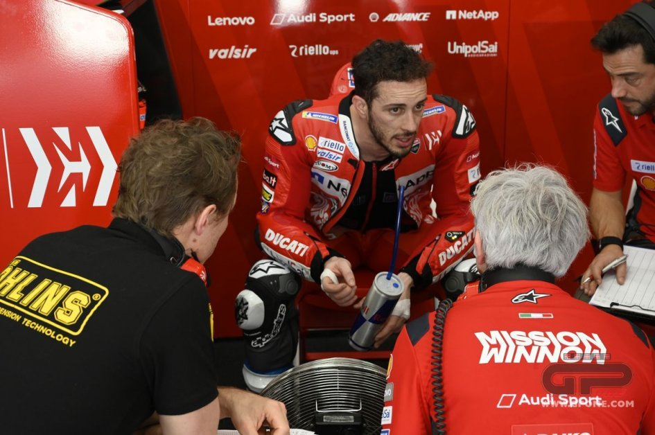 """MotoGP: Dovizioso: """"It's a beautiful Ducati, but the standings are misleading"""""""