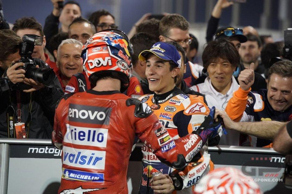 MotoGP: Dal deserto alla pampa: è ancora sfida tra Dovi e Marquez