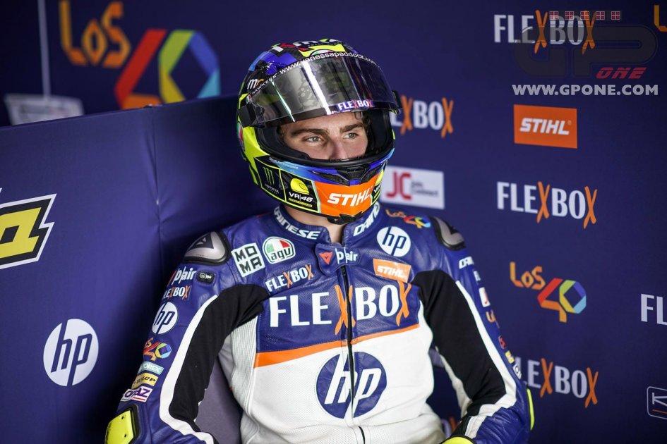 """MotoGP: Baldassarri: """"My dream? Racing in MotoGP before Rossi stops."""""""