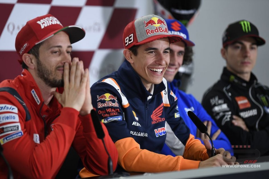"MotoGP: Marquez: ""My rivals for the title? We'll see in five or six races time"""