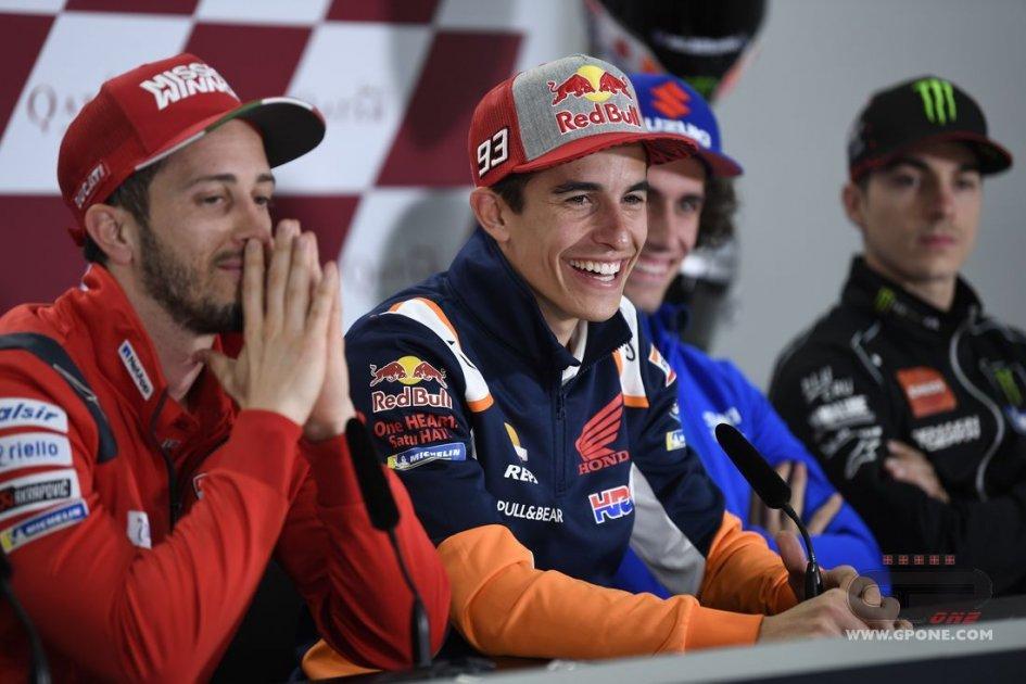 """MotoGP: Marquez: """"I rivali per il titolo? Li scoprirò tra cinque o sei gare"""""""