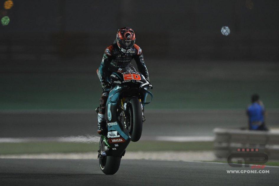 """MotoGP: Quartararo: """"Domani? Spegnerò il cervello come ho fatto oggi"""""""
