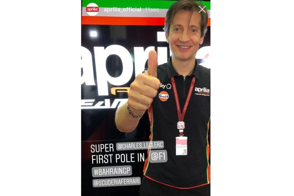 MotoGP: Il 'suo' Leclerc fa la Pole e Rivola esulta!