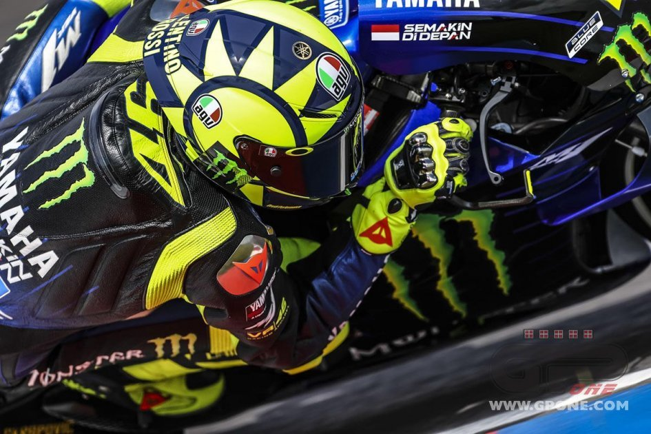 """MotoGP: Rossi: """"I'm fourth and happy. In Qatar, I started from the city center."""""""