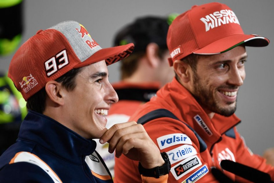 """MotoGP: Marquez: """"Ducati goes to the limit with technology, like me on track"""""""