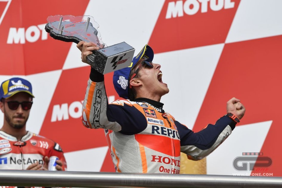 "MotoGP: Marquez: ""Un grande distacco? Ho spinto solo per 5 giri"""