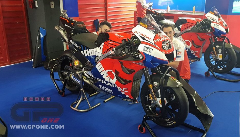 MotoGP: Here is the Ducati Pramac without the sponsor Alma
