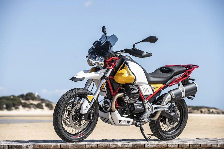 News Prodotto: Moto Guzzi V85 TT: le ali dell'aquila