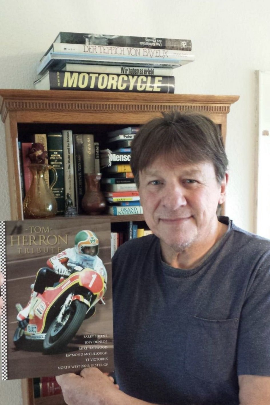 News: Tom Herron: an extraordinary man. The book