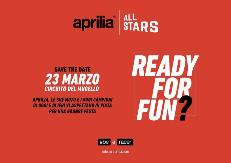 News: Il Mugello illuminato da tutte le stelle di Aprilia