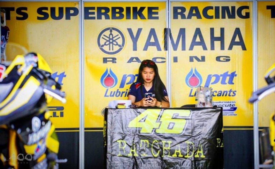 """SBK: Ratcahda: """"Per Rossi e l'Academy sono pronta a lasciare la Thailandia"""""""