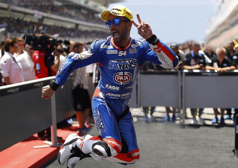 Moto2: Pasini, salti di gioia: torna pilota ad Austin