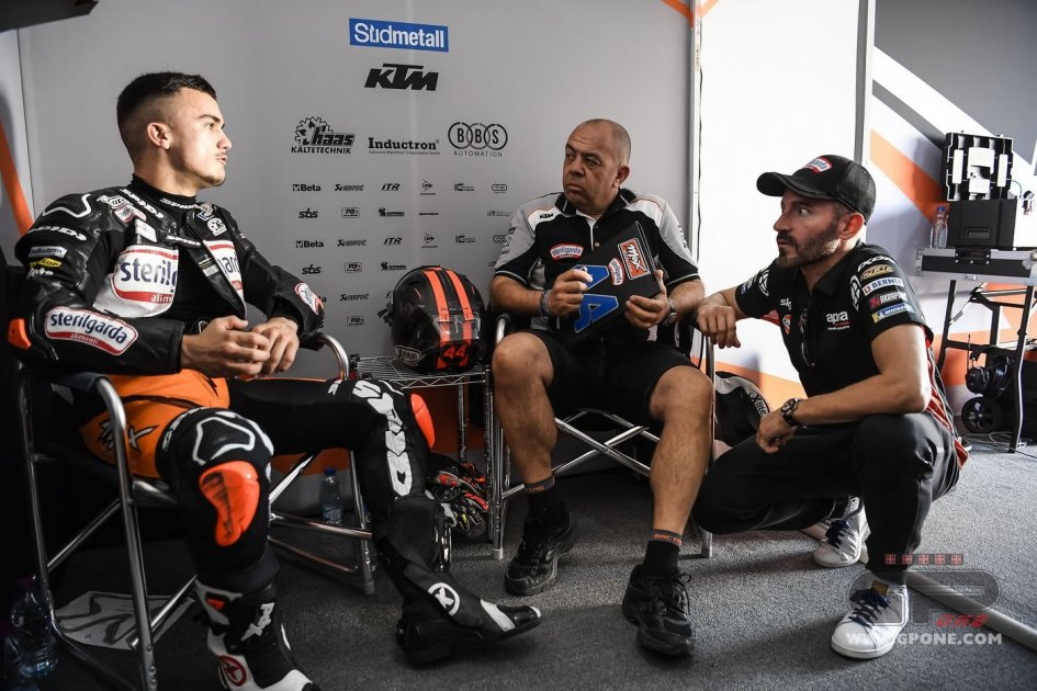Moto3: Max Biaggi: I chose Canet because he wanted revenge.