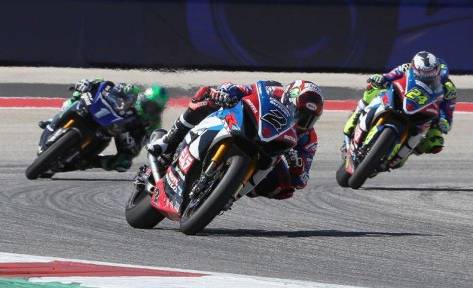 MotoAmerica: Herrin wins in Austin to give Suzuki a hat trick