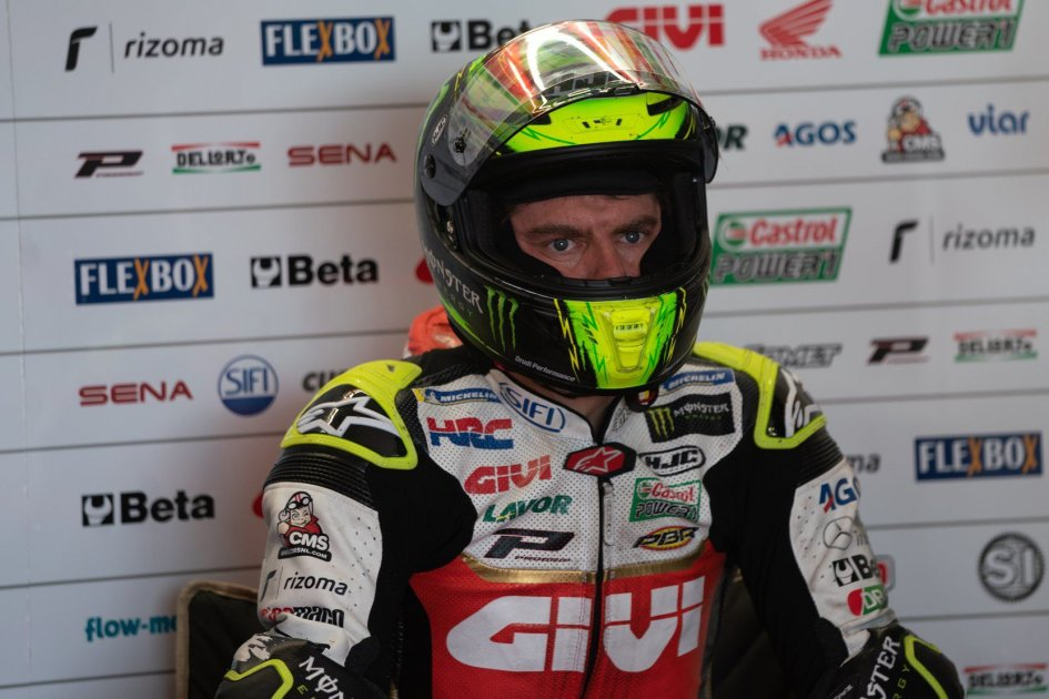 "MotoGP: Crutchlow's anger: ""Stupid penalty. Rossi and Marquez would have never gotten one."""
