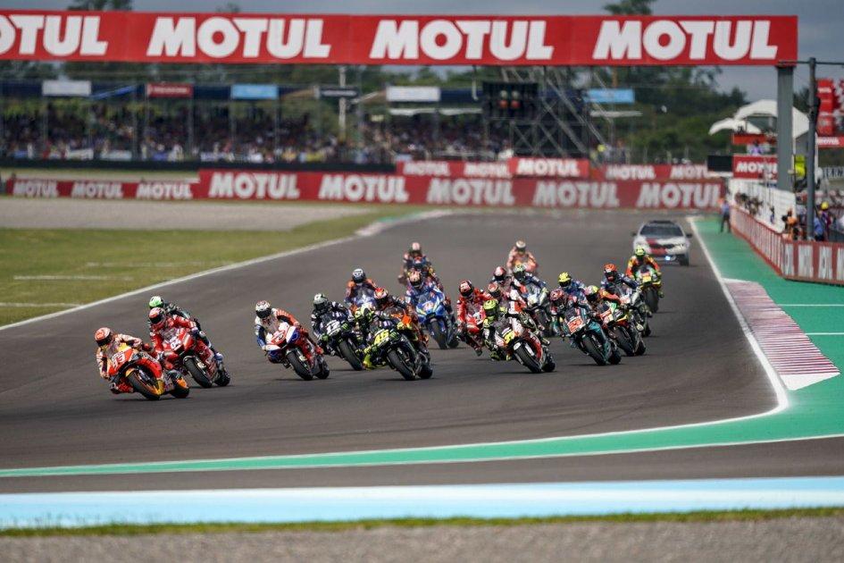 MotoGP: La MotoGP stravince in tv la sfida con la Formula 1
