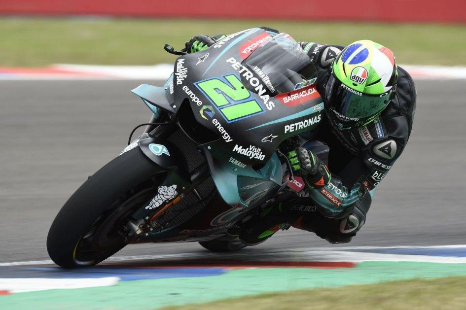 """MotoGP: Morbidelli: """"Non volevo superare Vinales, sono stato risucchiato dalla scia"""""""