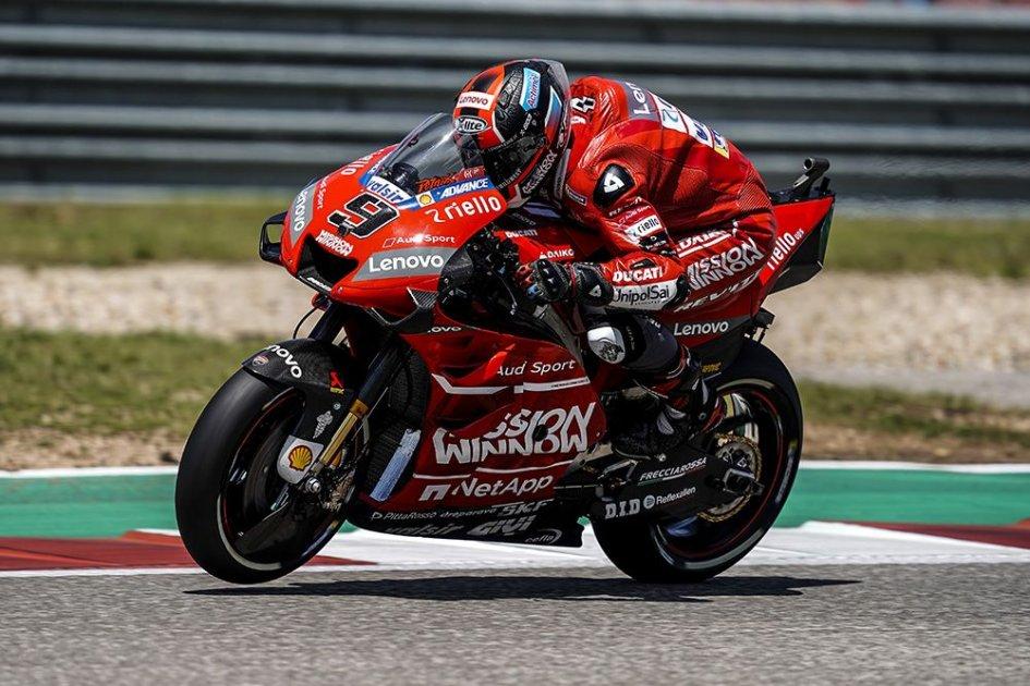 """MotoGP: Petrucci: """"Tre sesti posti? Una sufficienza ma nulla di più"""""""