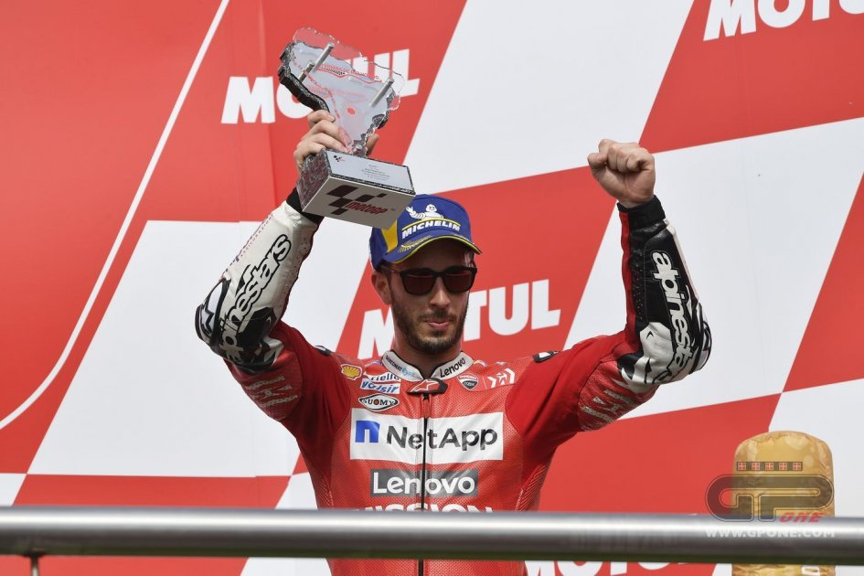 MotoGP: Andrea Dovizioso closes in on Mick Doohan