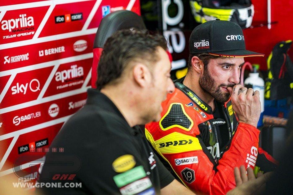 """MotoGP: Iannone: """"Con l'Aprilia ho ancora bisogno di tempo"""""""