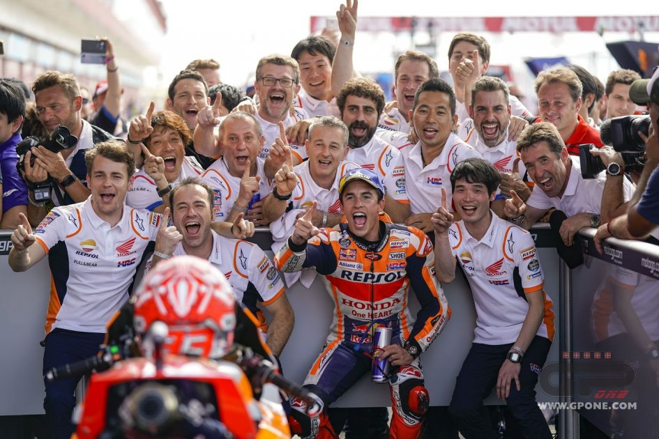MotoGP: Marc Marquez in America on the hunt for the record of Agostini
