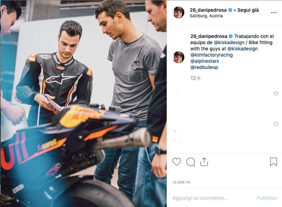 MotoGP: Dani Pedrosa ready to test with KTM