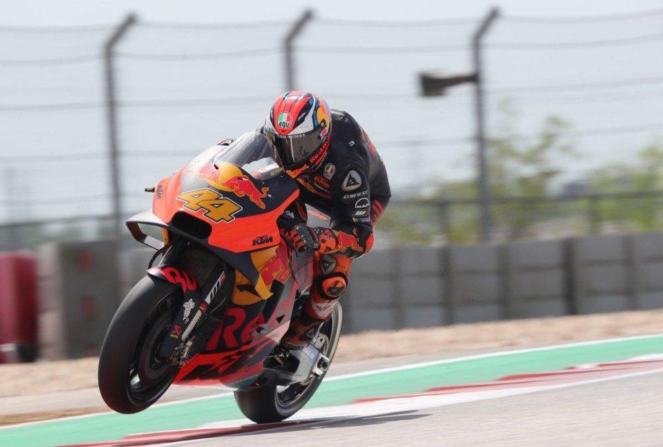 MotoGP: KTM sfida il maltempo a Le Mans con Zarco e Espargarò