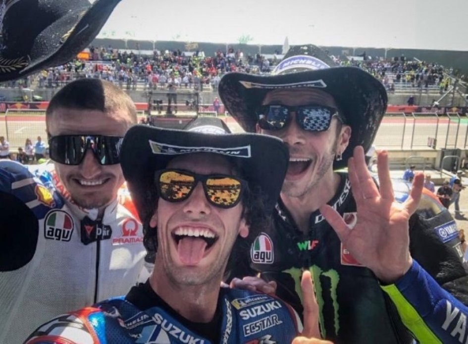 "MotoGP: Rins: ""I had to do something spectacular up against Rossi"""