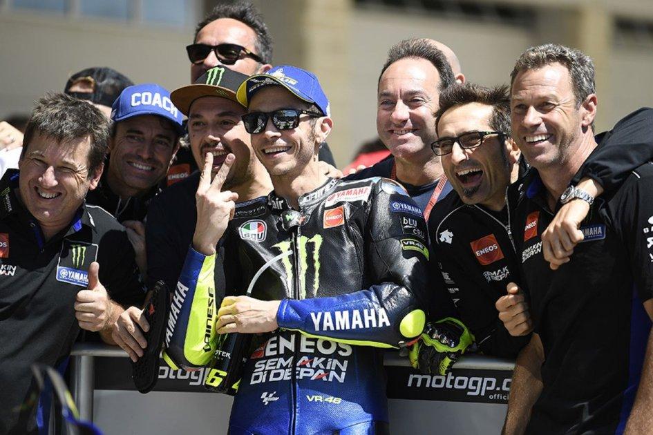 """MotoGP: Rossi: """"Marquez? Quando è caduto mi sono emozionato"""""""