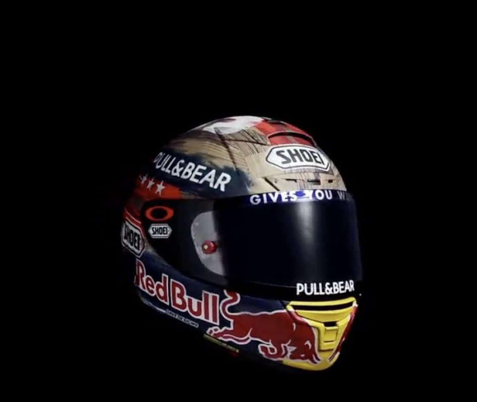 News: Marc Marquez Rodeo ninety three, the helmet
