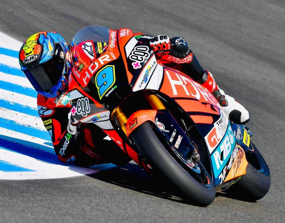 Moto2: Per Navarro super pole a Jerez con la Speed Up