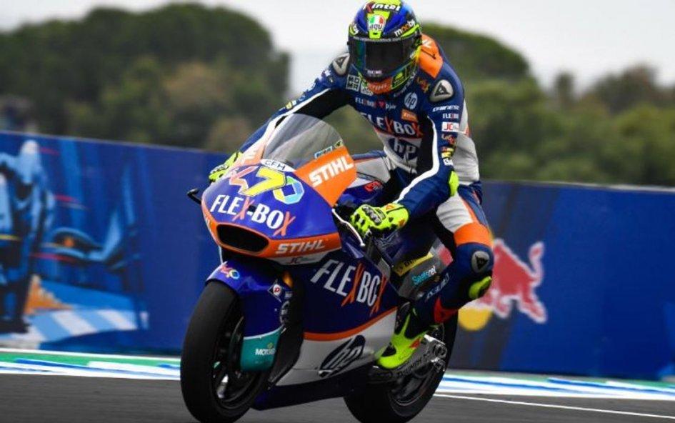 Moto2: Terzo successo 2019 per Baldassarri, 1° a Jerez