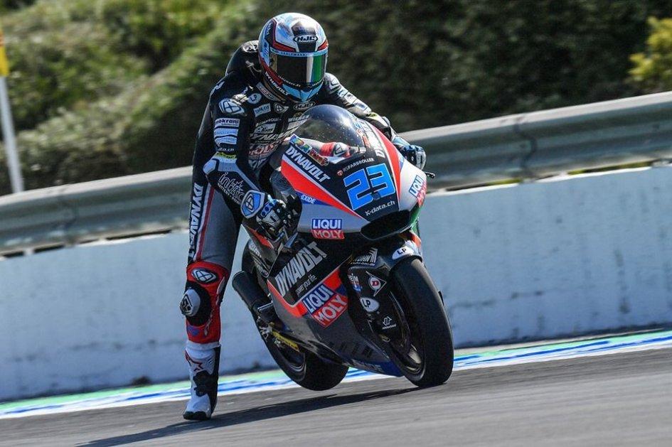 Moto2: FP2: Schrotter piega A. Marquez, 8° Di Giannantonio