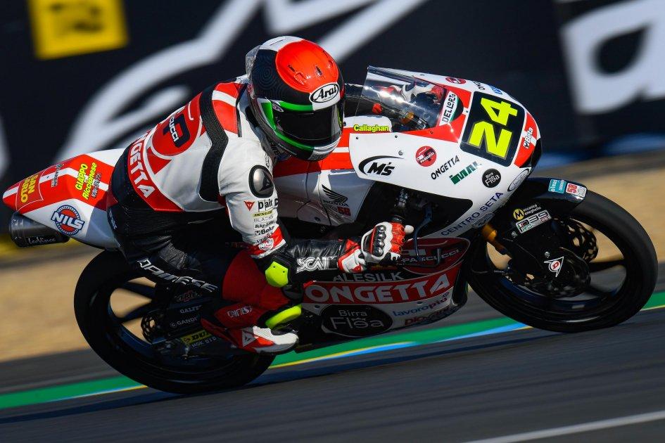 Moto3: FP3: Suzuki beffa Migno e guida il gruppo a Le Mans