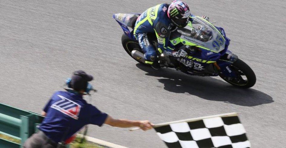 MotoAmerica: Beach wins in Virginia mimicking Nicky Hayden