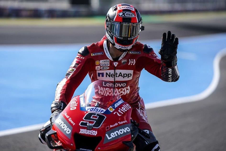 """MotoGP: Petrucci: """"Volevo il podio, ma lì ci sono solo tre gradini"""""""