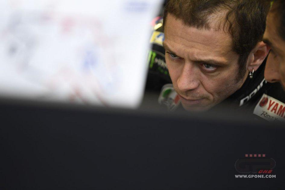 """MotoGP: Rossi: """"Ultimo delle Yamaha? Devo trovare la quadra"""""""