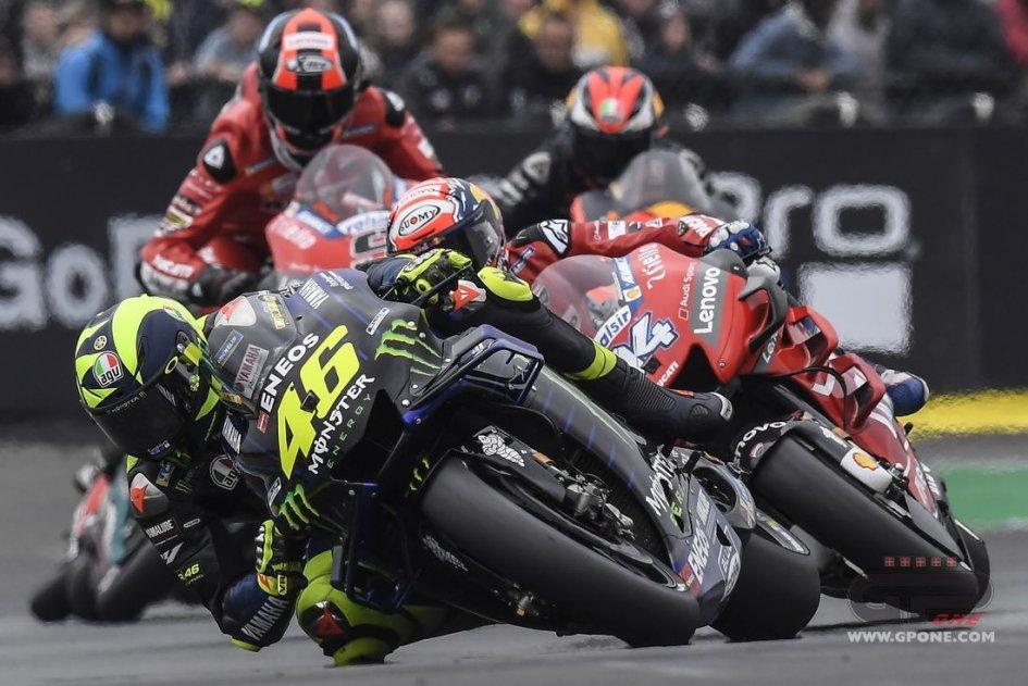 """MotoGP: Rossi: """"Il problema è il motore, nei test di Brno la nuova M1"""""""