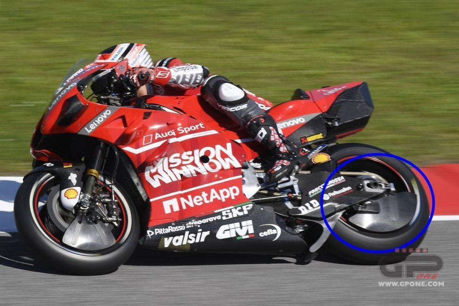 MotoGP: Ducati closes the wheel: new aerodynamics on Pirro's bike