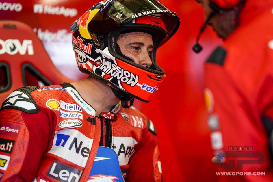 """MotoGP: Dovizioso: """"Fare a pugni in gara al Mugello non era il mio piano"""""""