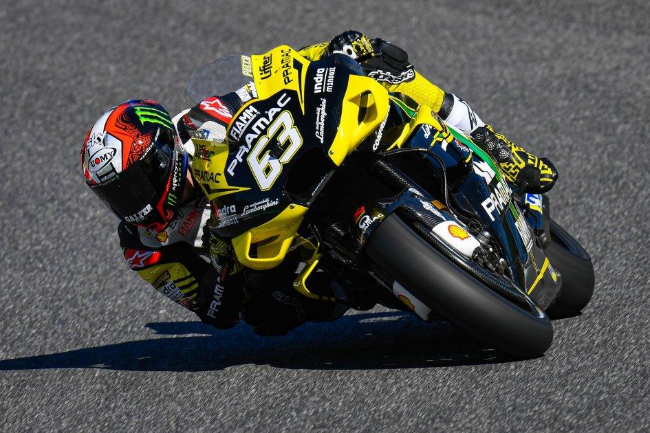 "MotoGP: FP2: Mugello ""Verde"": 1° Bagnaia e 2° Quartararo"