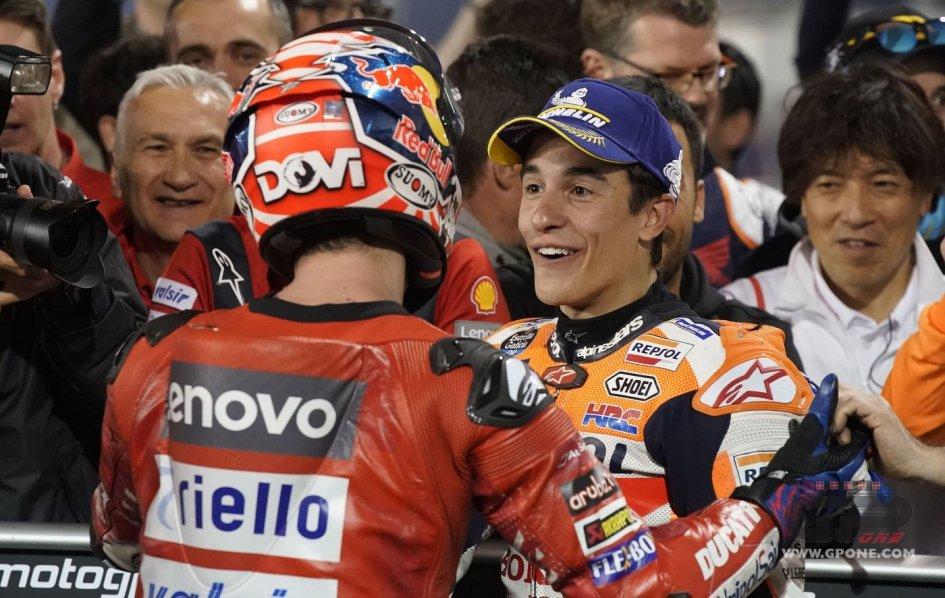 MotoGP: Marquez like Churchill: He's betting on himself in Jerez.