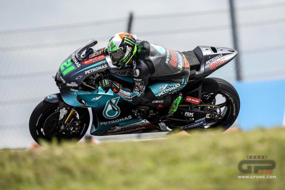 """MotoGP: Morbidelli: """"Il cucchiaio della Yamaha? Non male, ma soffriamo"""""""