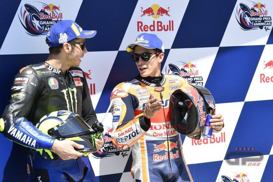 """MotoGP: Marquez: """"Rossi mi ha sorpreso, è questione di talento"""""""