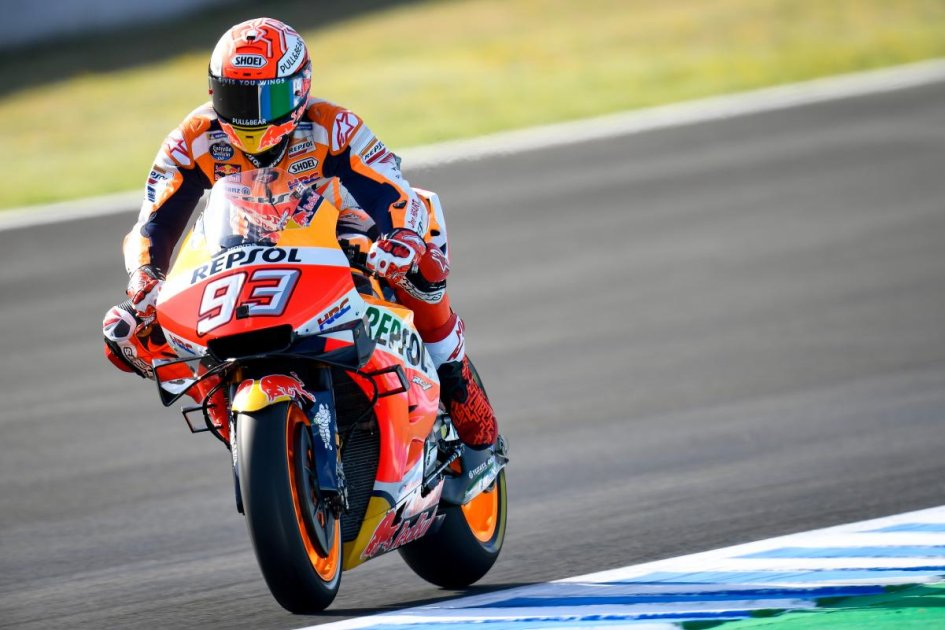 "MotoGP: Marquez: ""Lorenzo is fast here, but he's not one of my rivals here"""