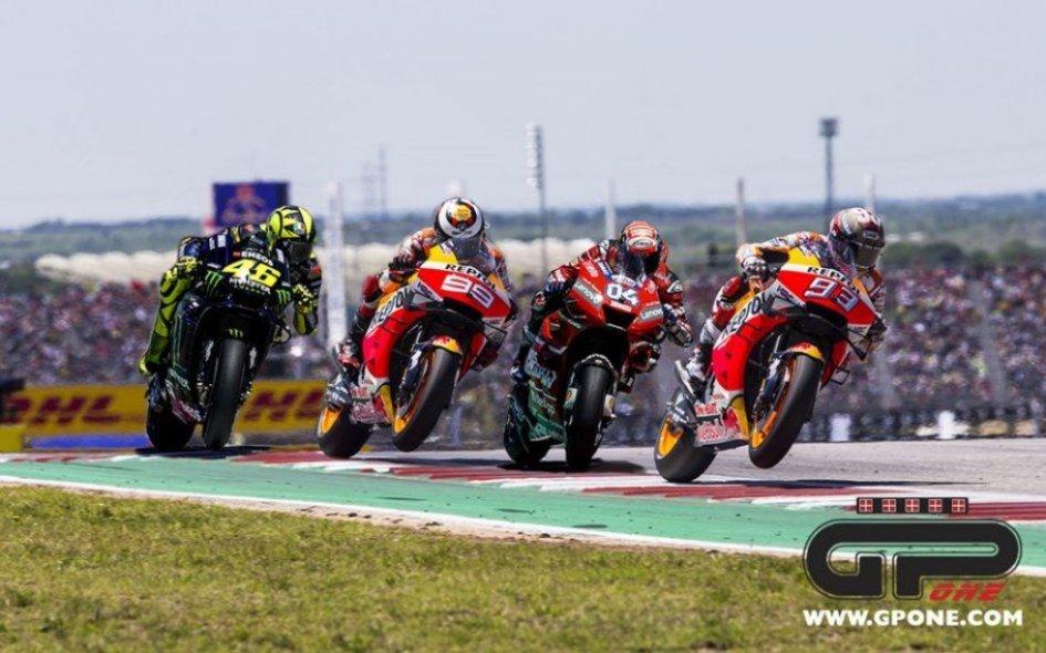 MotoGP: Mugello: la storia dice Rossi e Lorenzo, ma il pericolo è Marquez