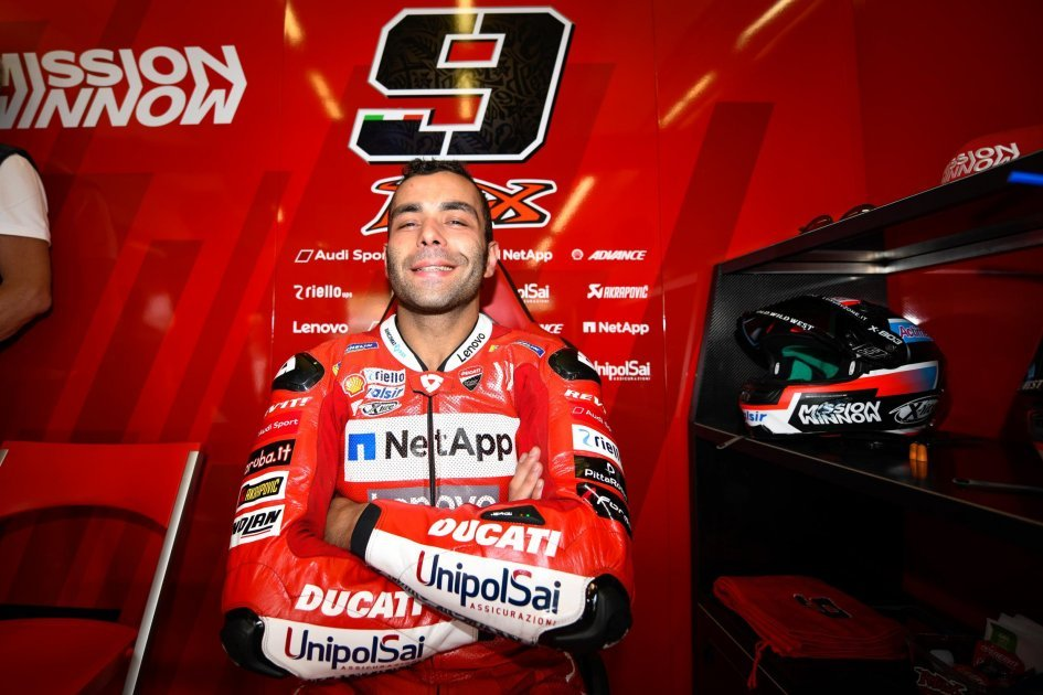 """MotoGP: Petrucci: """"The contract renewal? Not an obsession"""""""