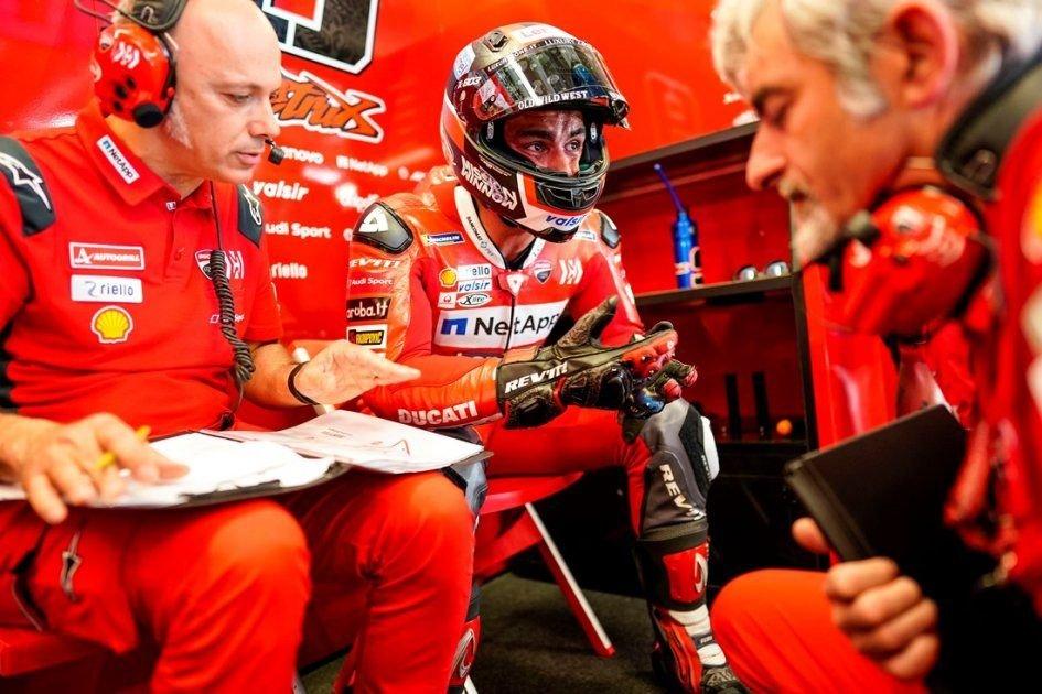 """MotoGP: Petrucci: """"L'unico problema sono le aspettative nei mei confronti"""""""