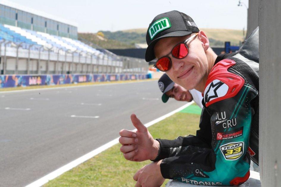 "MotoGP: Quartararo: ""Le Mans? It'll be more stressful than usual."""